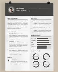 Modern Resume Templates Free Mesmerizing Free Modern Resume Templates Tommybanks