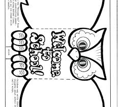 welcome back to school coloring pages work best worksheets ideas on sunday sheets for preschoolers
