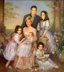 brenda burke english dr william crumb and family beautiful paintingsfamily lifefamily portraitsvintage