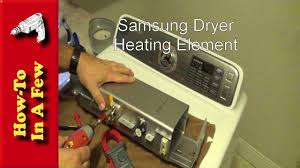 how to replace your samsung dryer heating coil how to replace your samsung dryer heating coil