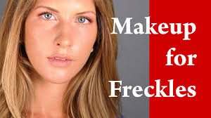how to apply natural everyday makeup for s with freckles tutorial