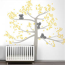 decals ideas on tree wall view larger baby nursery