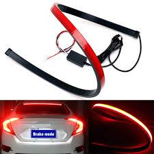 Universal Third Brake Light Amazon Com Third Brake Lights Maso 144 Led 39inch Red Tail