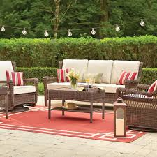 enchanting outdoor wicker patio furniture patio furniture for your outdoor space the home depot