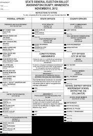 How To Make Ballots On Microsoft Word Us Election Ballots From Gay Rights And Abortion To