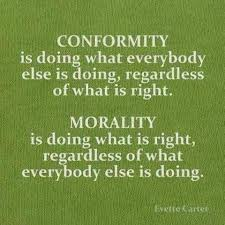Conformity Quotes Extraordinary Quotes About WisdomConformity Is Doing What Everybody Else Is Doing
