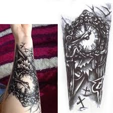 3 шт время поддельные татуировки стикеры интимные товары водонепроницаемый