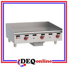 wolf agm36 manual control heavy duty gas griddle 36 x 24 natural or