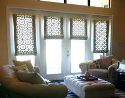 front door window treatments shades glass coverings ideas for transom stained panels