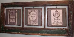 brag monday french wall art ephemera frame