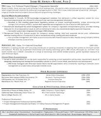 Project Management Resumes Samples Construction Construction Project