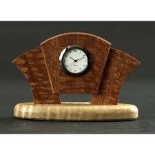 wooden desk clock art desk clock small wooden desk clocks