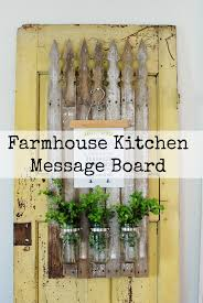 Kitchen Message Board Magnolia Market Inspired Kitchen Message Board Hunt And Host