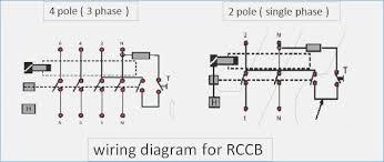 4 pole circuit breaker wiring diagram stolac org Ground Fault Breaker Wiring Diagram at 2 Pole Circuit Breaker Wiring Diagram
