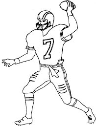 Small Picture Football player coloring pages to print ColoringStar