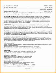 Military To Civilian Resume Writing Services New Professional Resume