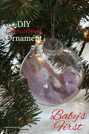 DIY Baby's First Christmas Ornament | Christmas ornament, Ornament ...