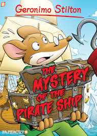 geronimo stilton 17 the mystery of the pirate ship