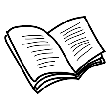 512x512 hand drawn open book