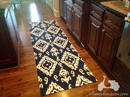 ikat mats for the kitchen