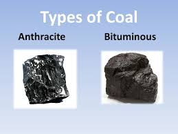 King Coal Types Of Coal Anthracite Burns Hotter And