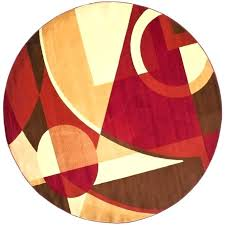 7 ft round area rugs red rug multi x with regard round area rug red