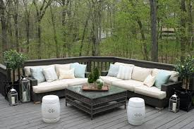 ... Beautiful Outdoor Living Room Decoration With Restoration Hardware  Outdoor Pillows : Beauteous Ideas For Outdoor Living ...