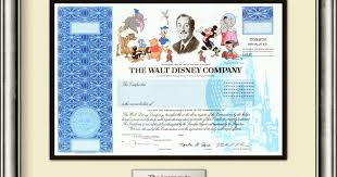 Selling A Share Certificate Disney Stops Issuing Paper Stock Certificates