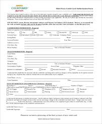3Rd Party Authorization Form Template 5 Third Party Authorization ...