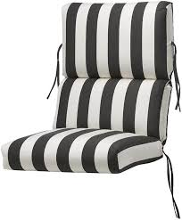 visit the home depot to home decorators collection outdoor high back maxim classic sunbrella bull nose chair cushion 1573320260