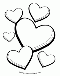 Small Picture Printable Heart Coloring Pages Free Android Coloring Printable