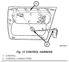dodge stratus climate control diagram 2 7 v 6 dual airbag Dodge Stratus Wiring Harness disconnect the control wiring harness 2000 dodge stratus wiring harness