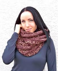 Knit Infinity Scarf Pattern Mesmerizing KNITTING PATTERN Knit Infinity Scarf Pattern Knit Scarf Etsy