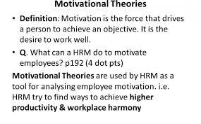 motivation motivation motivational drives definition