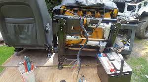 volvo seat wiring help