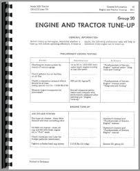 john deere 820 tractor service manual tractor manual