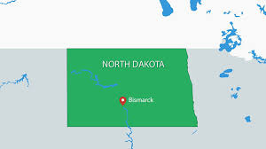 Usa Map For Powerpoint North Dakota Usa Powerpoint Maps
