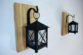 white wall candle holders wood sconces wooden rustic lantern decor by mounted w