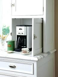office coffee cabinets. Office Coffee Station Cabinet Hidden Cabinets
