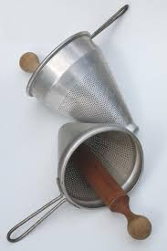 image vintage kitchen craft ideas. Kitchen Craft. Vintage Strainer / Food Mill Cone Shaped Sieves W/ Wood Masher Pestle Image Craft Ideas 2