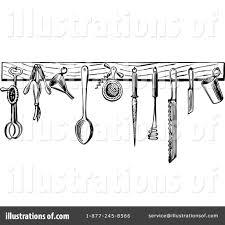 vintage kitchen utensils illustration.  Illustration Vintage Kitchen Illustration Clipart 1121160 By Prawny  Vintage Throughout Kitchen Utensils Illustration F