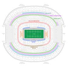 Mavericks Seating Chart Rows Dallas Cowboys Suite Rentals At T Stadium
