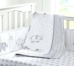 organic taylor nursery bedding set elephant baby pottery barn kids o organic crib bedding