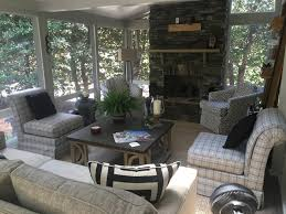 screened in porch with fireplace. How Much Would It Cost To Integrate An Outdoor Fireplace Into My Screen Porch Or Covered Patio? Screened In With E