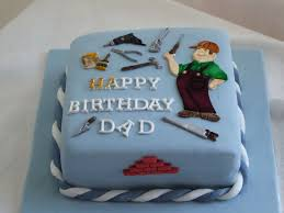 12 Easy Birthday Cakes For Dad Photo Simple Dad Birthday Cakes