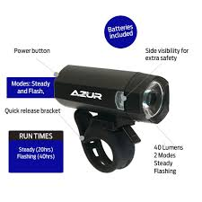 Azur 2200 Bike Light Review Azur Bike Light Review Ash Cycles