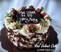 Red Velvet Cake Rizka Dkm Cakes Nina Septiningtyas Flickr