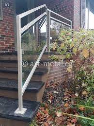 Metal deck railing ideas Modern 0757 Art Metal Workshop Deck Railing Design Ideas And Material Options To Choose From