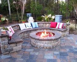 image of outdoor fireplace designs