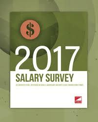 2017 Salary Survey of Architecture Interior Design Landscape